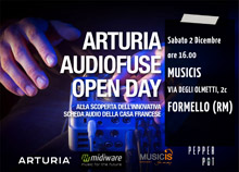 Arturia AudioFuse Open Day