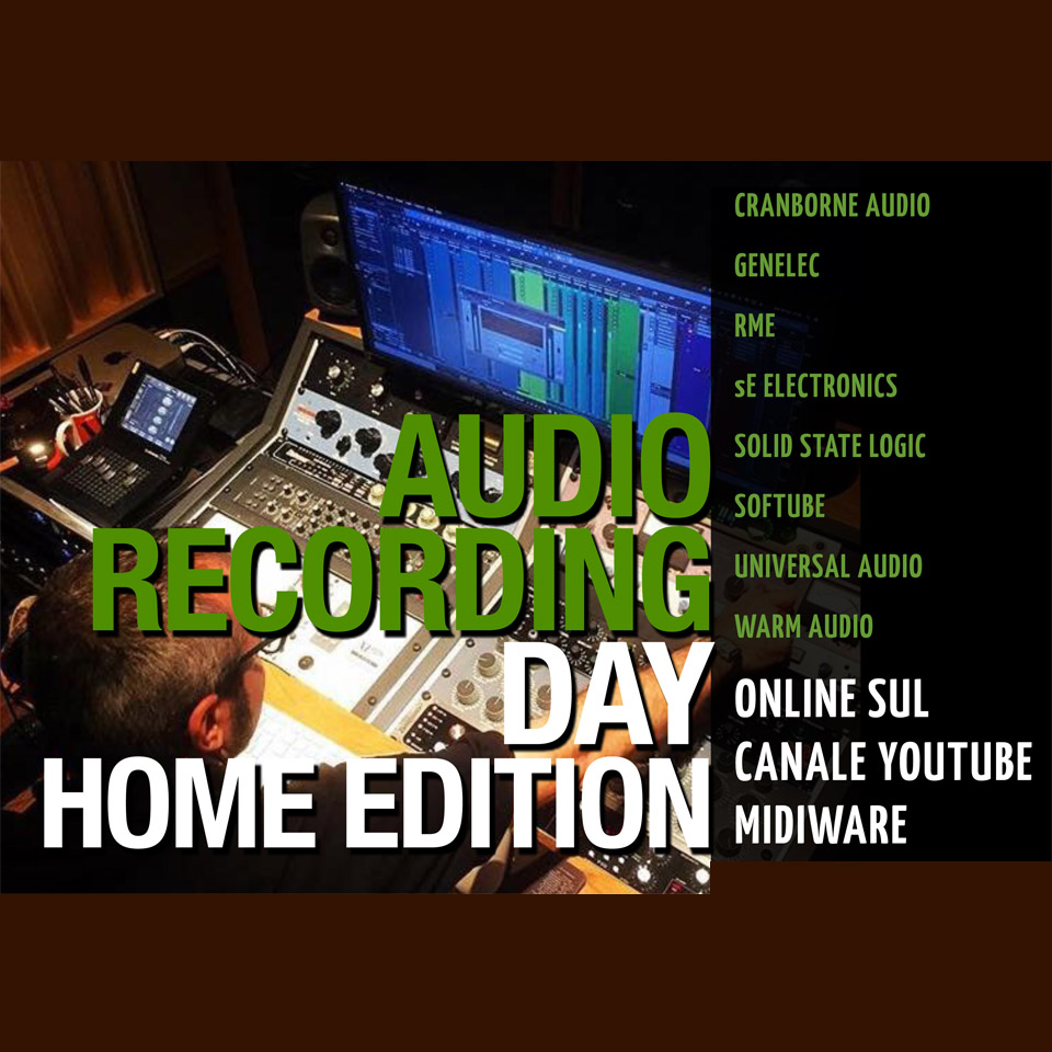 EVENTO: Audio Recording Day - Home Edition