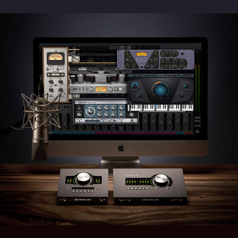 PROMO: Universal Audio Desktop Platinum Vocal