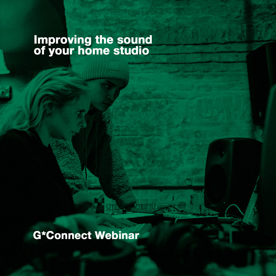 EVENTO: Genelec G*Connect Webinars