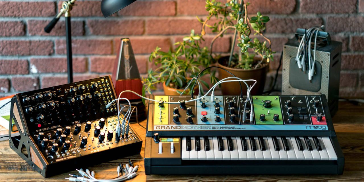 moogs vibrant grandmother synth goes back to the future 1280x640