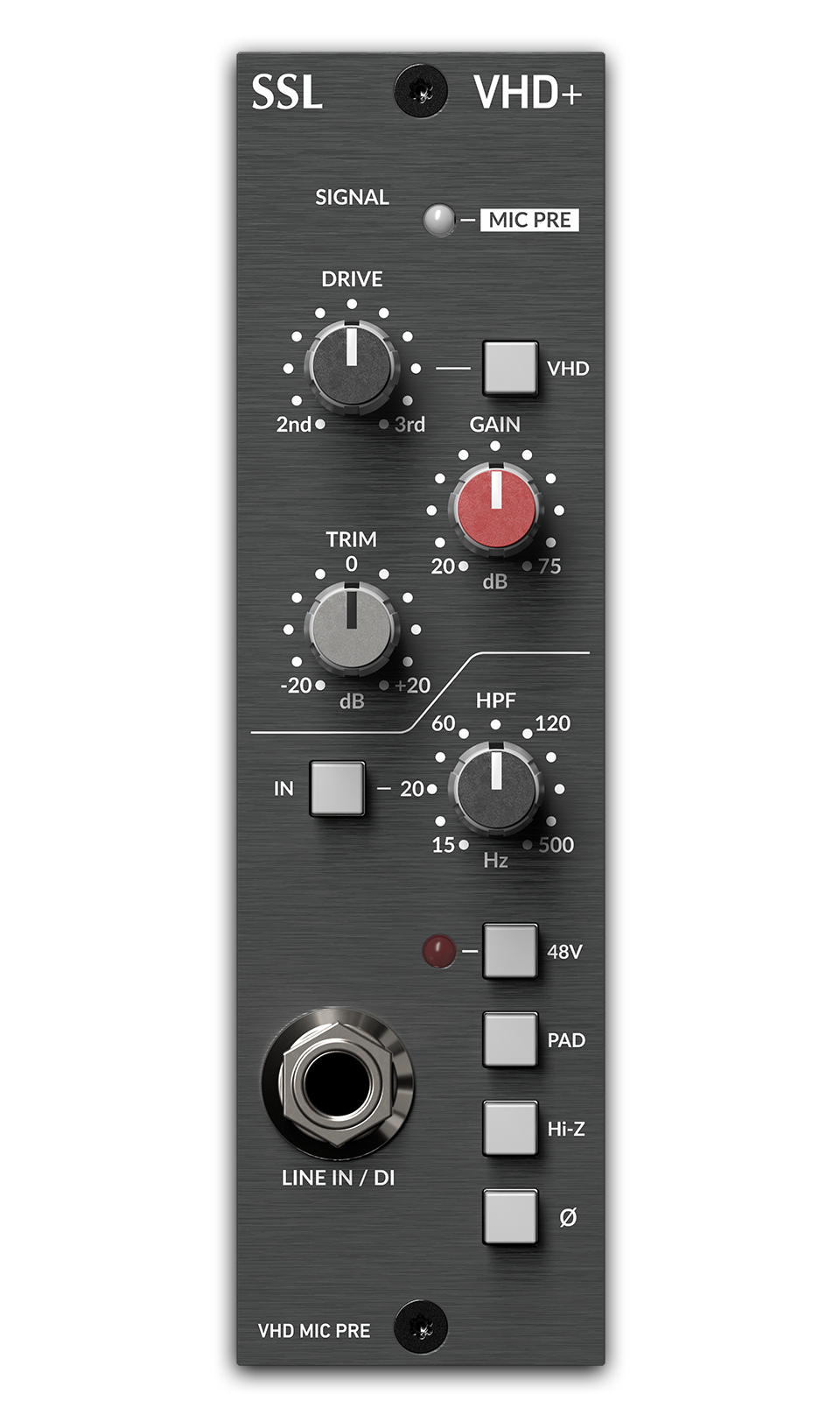 SOLID STATE LOGIC 729731X2 500-SERIES VHD+ PREAMP