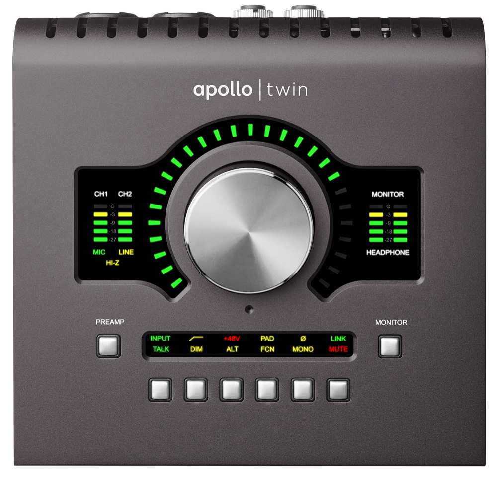 UNIVERSAL AUDIO APLTWDII APOLLO TWIN MKII DUO