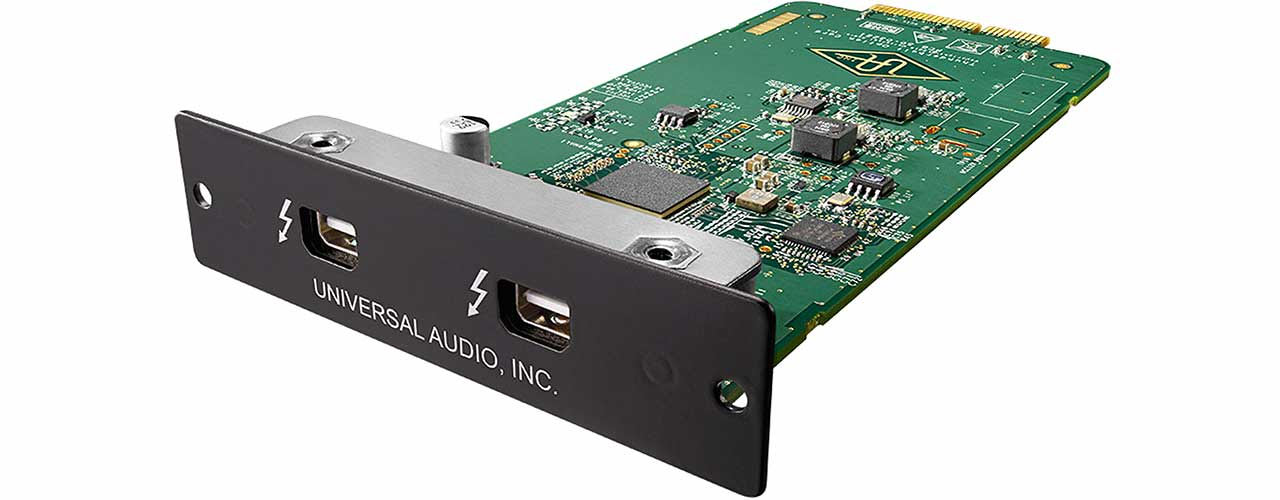 UNIVERSAL AUDIO TBOC THUNDERBOLT 2 OPTION CARD (MAC/WIN)