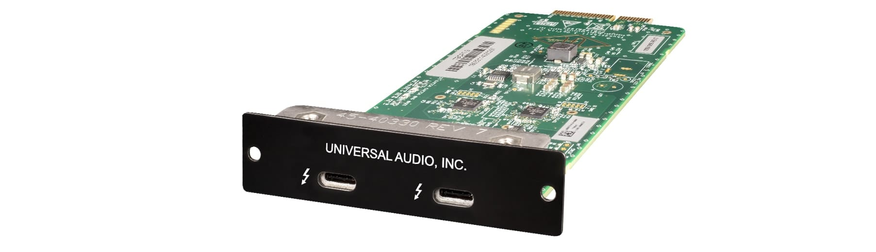 UNIVERSAL AUDIO TBOC-3 THUNDERBOLT 3 OPTION CARD (MAC/WIN)