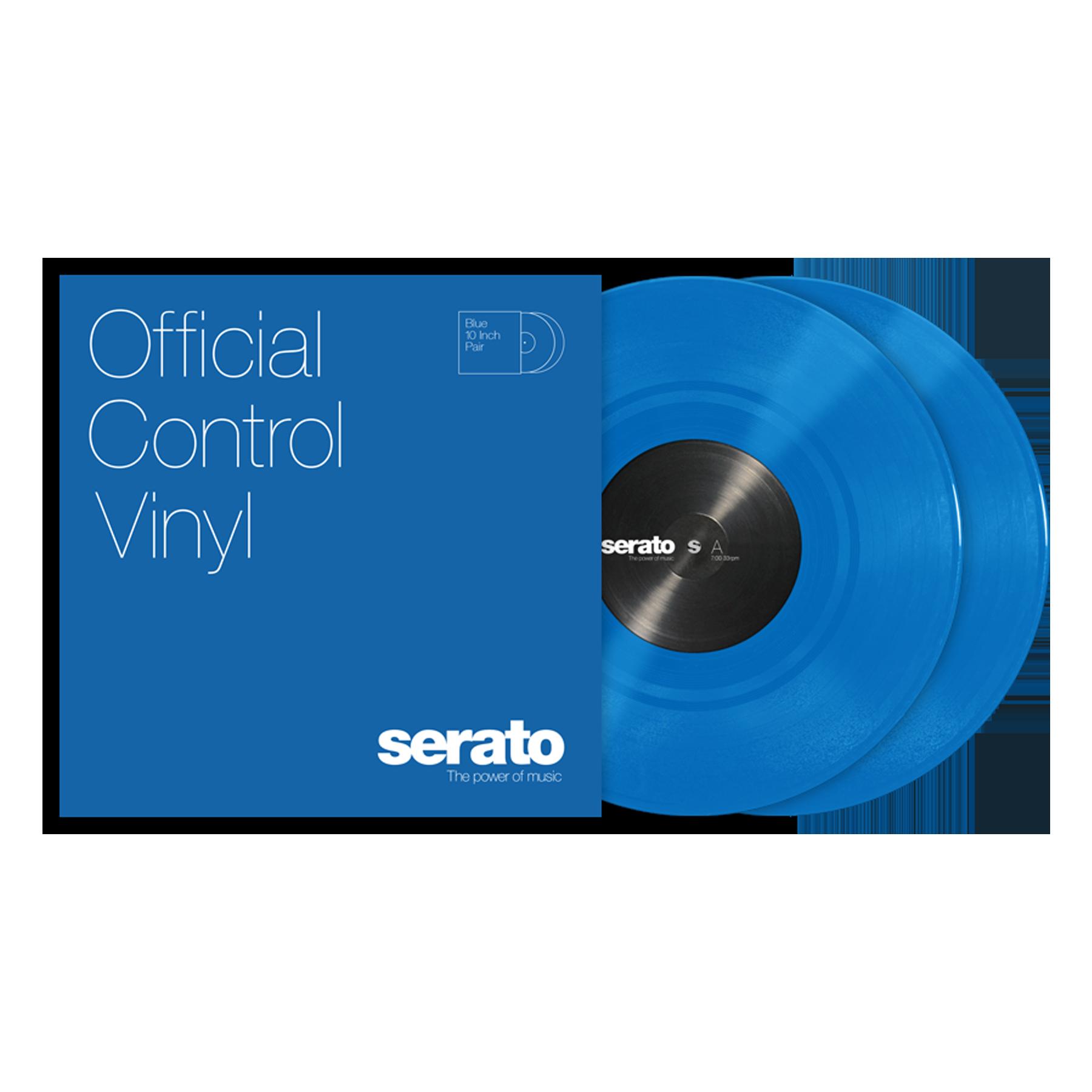 SERATO SCV-PS-BLU-10 10″ SERATO STANDARD COLORS BLUE