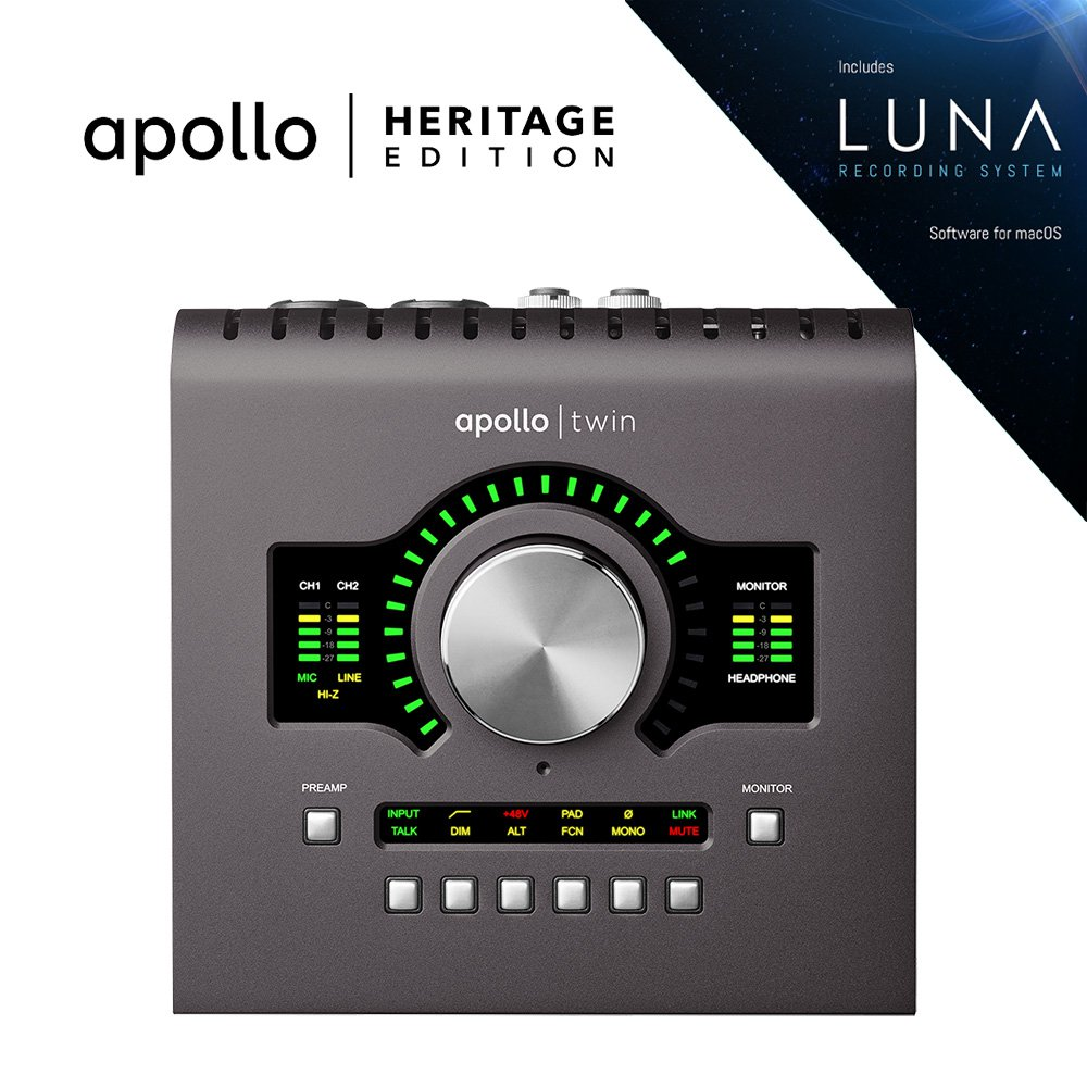 UNIVERSAL AUDIO APLTWDII-HE APOLLO TWIN MKII | HERITAGE EDITION