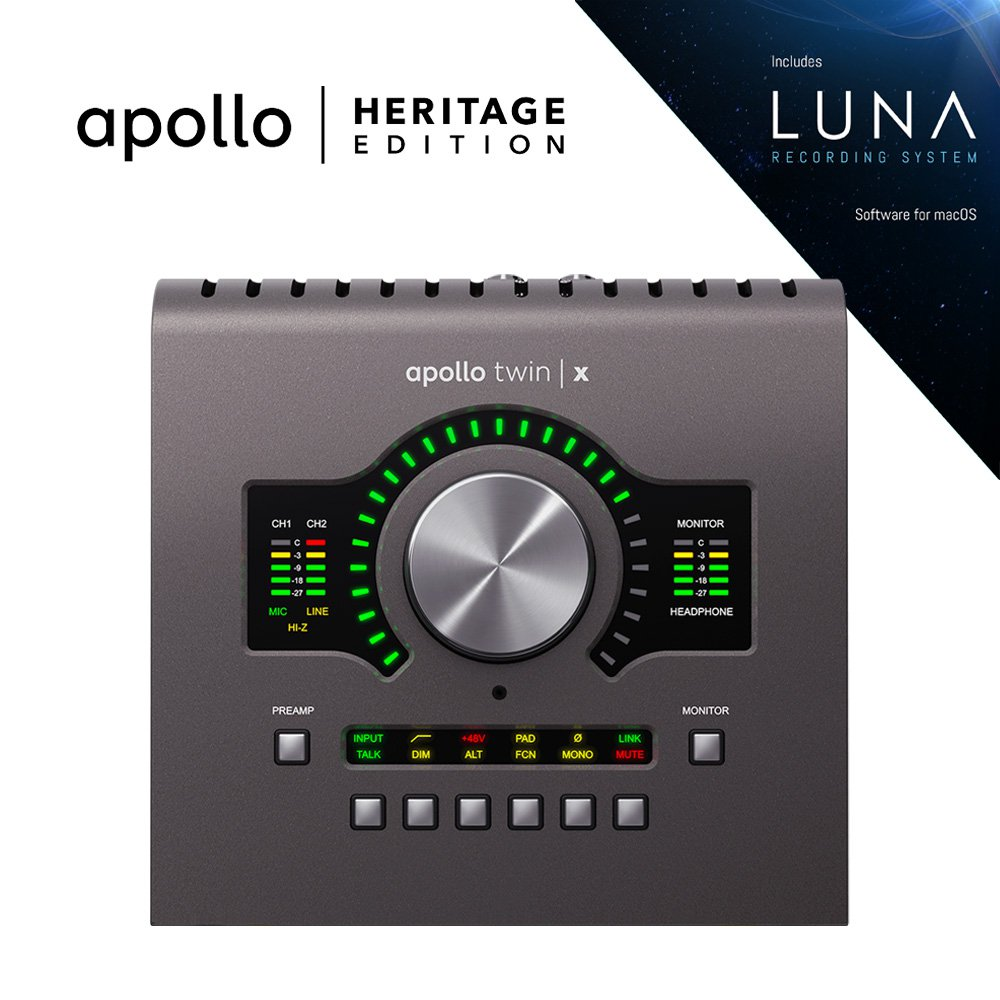 UNIVERSAL AUDIO APLTWXQ-HE APOLLO TWIN X QUAD | HERITAGE EDITION