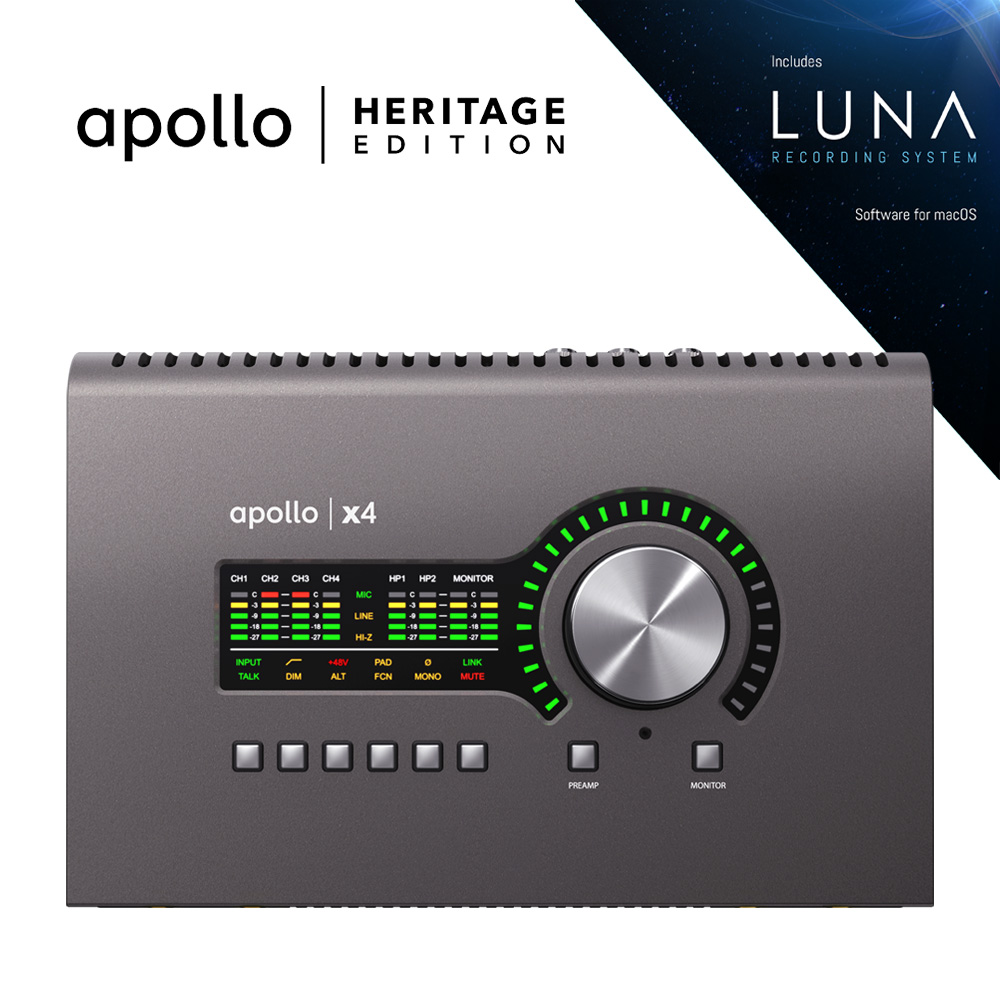 UNIVERSAL AUDIO APX4-HE APOLLO X4 | HERITAGE EDITION