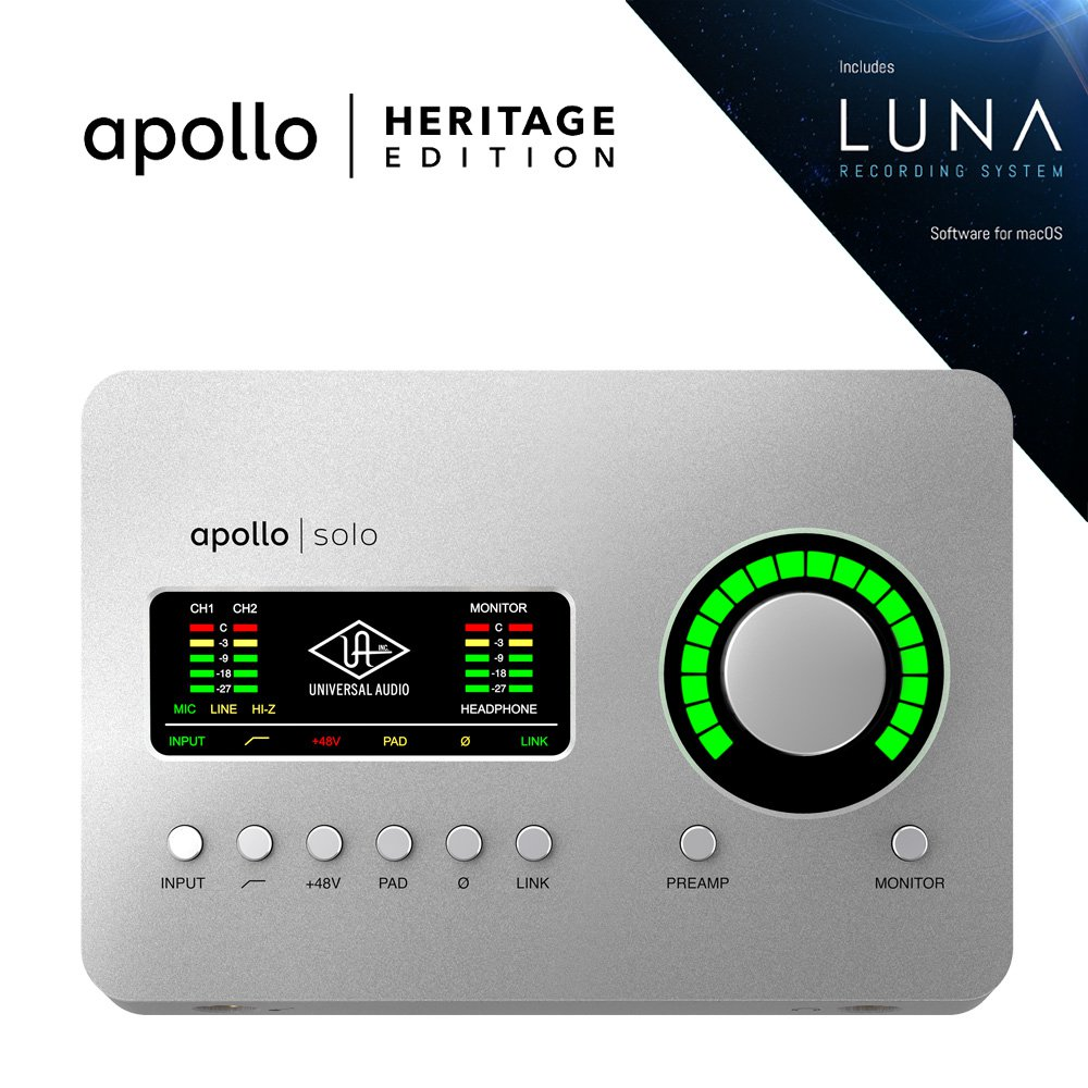 UNIVERSAL AUDIO APLS-HE APOLLO SOLO | HERITAGE EDITION