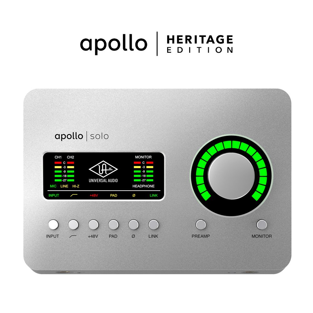 UNIVERSAL AUDIO APLSU-HE APOLLO SOLO USB | HERITAGE EDITION