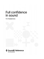 SoundID Reference For Headphones Envelope